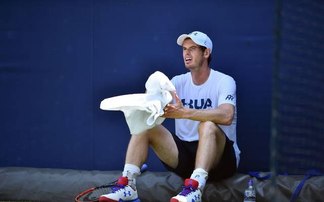 Andy Murray setzt seit Juni 2017 eine Hüftverletzung außer Gefecht