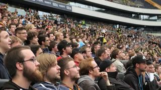 """Die Zuschauer bei der eSport-WM """"The International 5"""" mussten nach einem Hackerangriff warten"""