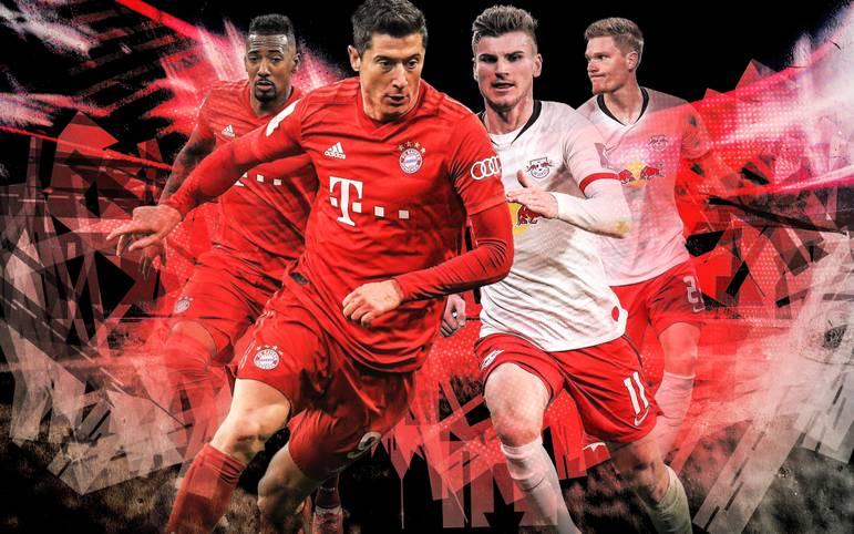 Bayern gegen Leipzig. Erster gegen Zweiter. Meister gegen Pokal-Vize. Damit ist alles gesagt. Wenn der Rekordmeister den Dritten der Vorsaison empfängt, heißt es für Fußball-Deutschland: Spitzenspiel. Bevor es losgeht, vergleicht SPORT1 die Teams im Head to Head - und kommt zu einem klaren Sieger