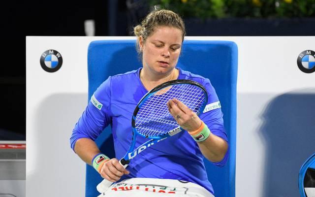 Kim Clijsters hatte im Februar ihr Comeback gegeben