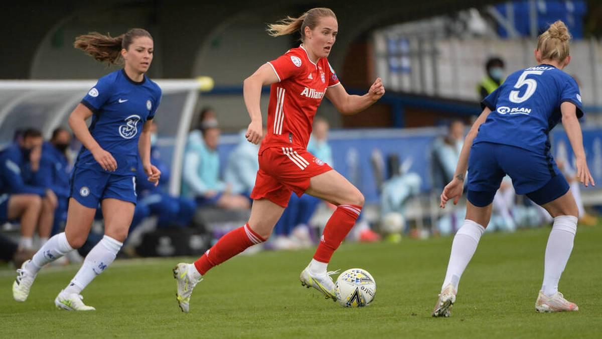 Die Frauen des FC Bayern kamen in der vergangnen CL-Saison bis ins Halbfinale
