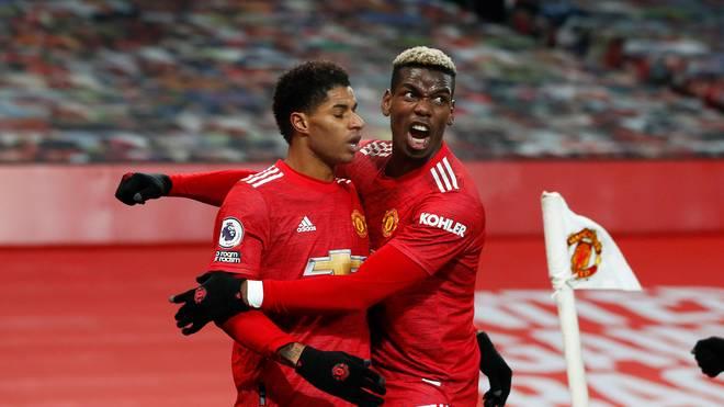 Manchester United und Paul Pogba stehen an der Spitze der Premier League