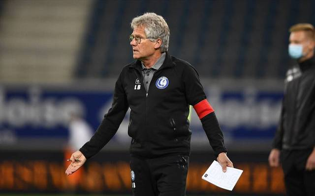Laszlo Boloni head coach of KAA Gent FOOTBALL : La gantoise v Malines - Jupiler Pro League - 30 08 2020 PHOTONEWS PANORAMIC PUBLICATIONxINxGERxSUIxAUTxHUNxONLY 775545126