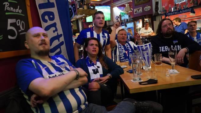 Ein paar Hertha-Fans dürfen wohl schon bald wieder ins Stadion