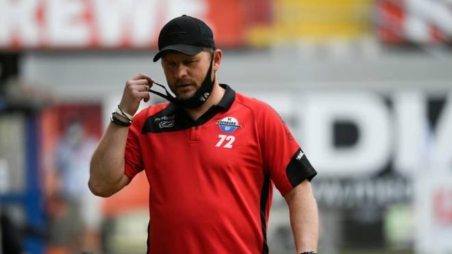 Neue Herausforderung? Steffen Baumgart ist seit 2017 Cheftrainer beim SC Paderborn
