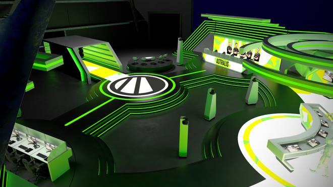 Konzeptbild für das neue CS:GO ESL Pro Tour Studio