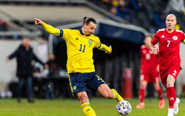 Zlatan Ibrahimovic gibt sein Comeback für Schweden
