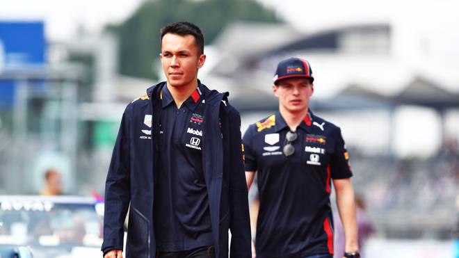 Formel 1: Alexander Albon auch 2020 im Red-Bull-Cockpit neben Verstappen