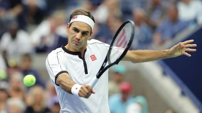 Roger Federer steht bei den US Open in der dritten Runde