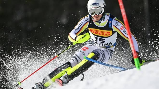 Linus Straßer leistete sich im Slalom einige Fehler