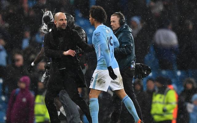 Pep Guardiola würde gerne mit Leroy Sané weiterarbeiten
