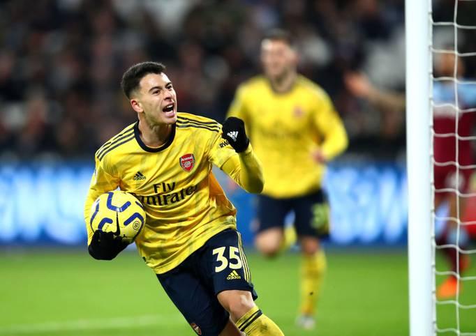 Gabriel Martinelli sorgt beim FC Arsenal weiter für Furore. Mit 18 Jahren und 174 Tagen ist er laut Opta der jüngste Gunner, der beim Startelfdebüt direkt ein Tor erzielt