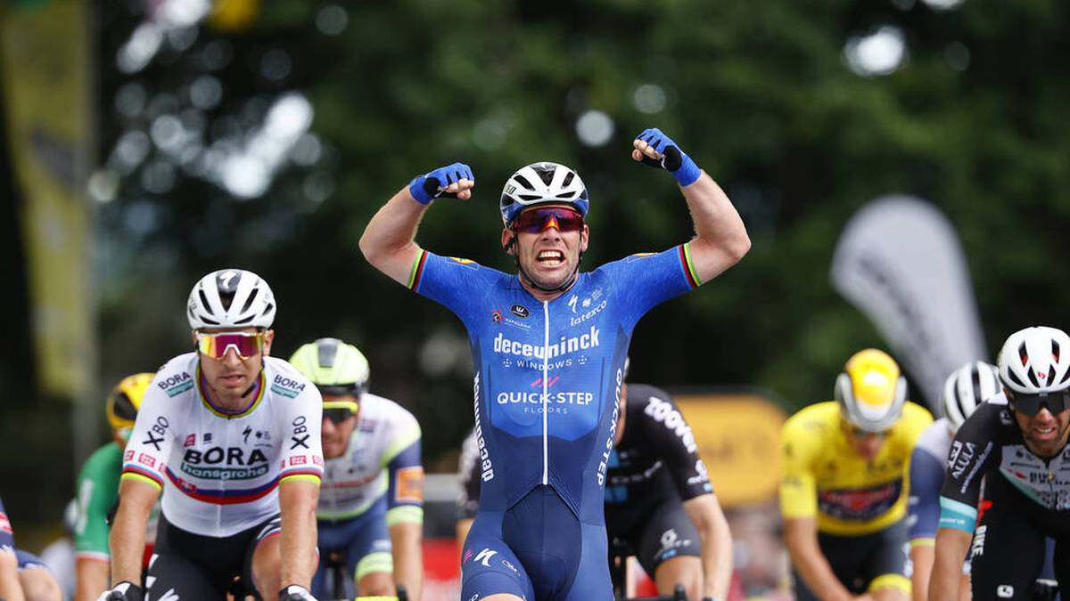 Mark Cavendish schrieb Tour-Geschichte