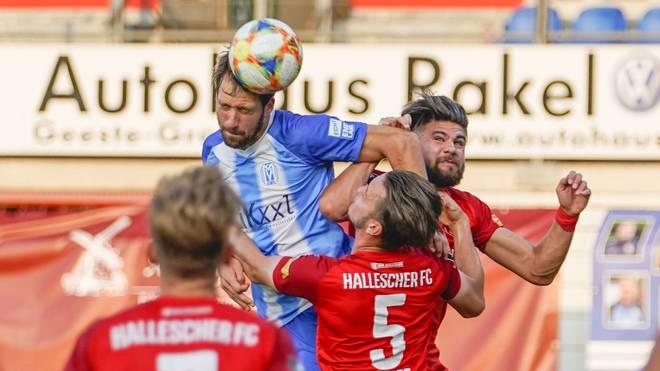 Der Hallesche FC feierte einen wichtigen Sieg in Meppen
