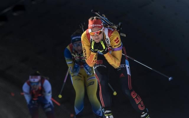 Sprint: Denise Herrmann wird in Nove Mesto Zweite