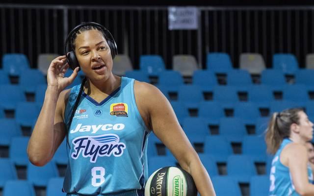 Liz Cambage spielt in Australien für die Southside Flyers