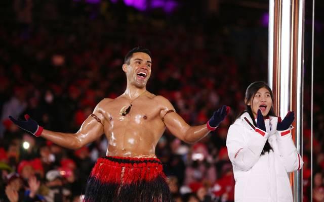 Pita Taufatofua erlangte als Fahnenträger Tongas weltweite bekanntheit