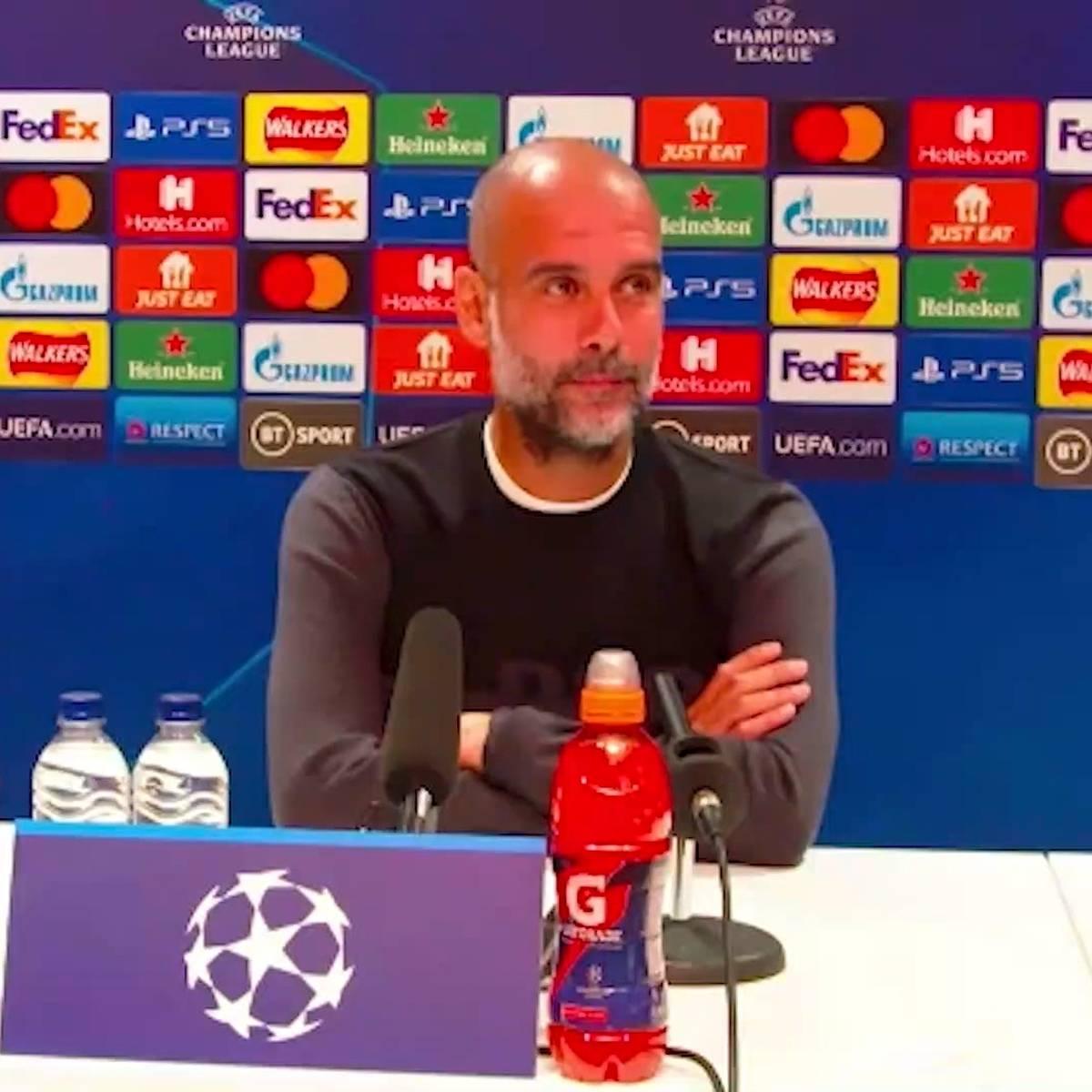 """Guardiola stutzt Journalist zurecht: """"Habe das nicht gesagt!"""""""