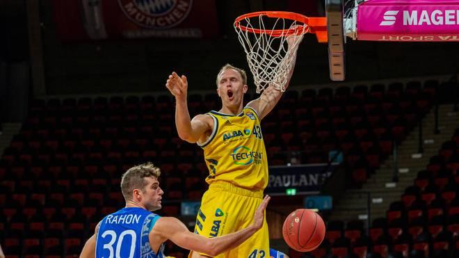 Luke Sikma von ALBA Berlin warnt vor Gegner Bamberg