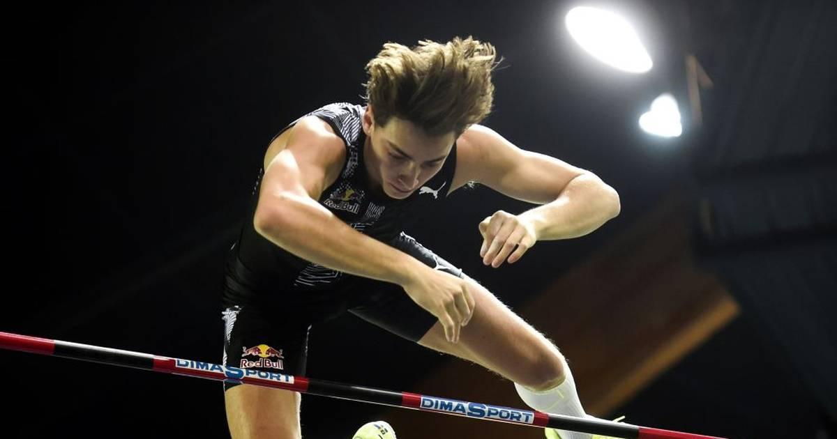 Armand Duplantis bei Stabhochsprung wieder über sechs Meter