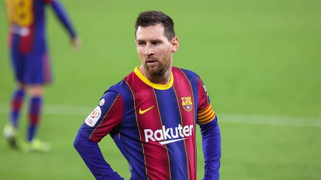 Lionel Messi steht mit dem FC Barcelona vor dem Pokalaus