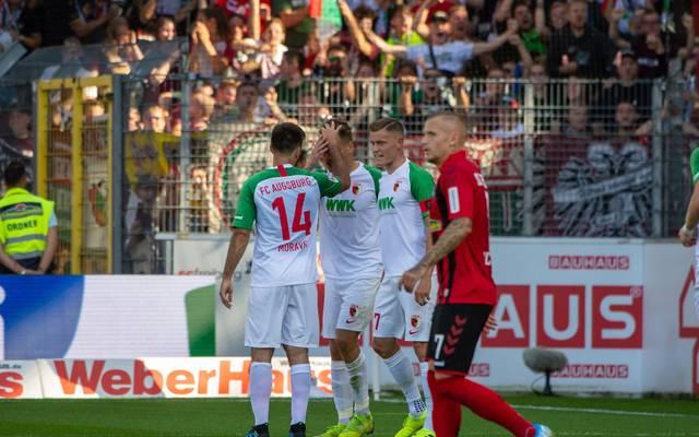 Florian Niederlechner traf gegen Ex-Klub SC Freiburg
