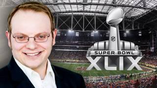 Eric Böhm berichtet für SPORT1 vom Super Bowl XLIX