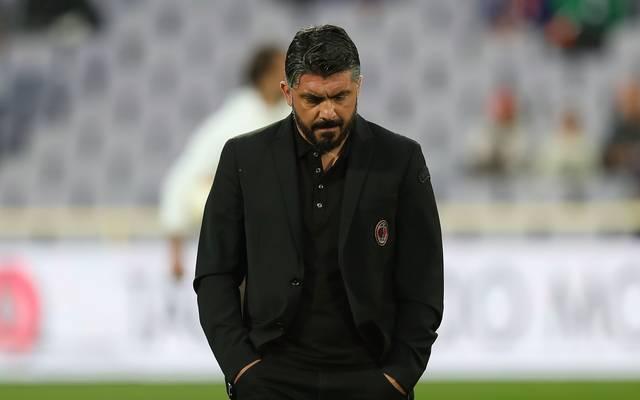 Gennaro Gattuso (Bild) und Sportdirektor Leonardo werden den AC Mailand verlassen