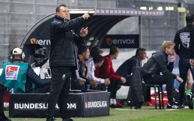 Uwe Koschinat feierte in seinem ersten Spiel als Sandhausen-Trainer einen klaren Sieg