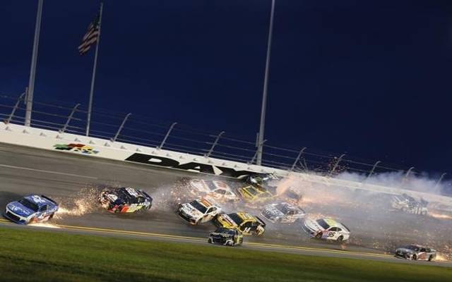 """Der frühe """"Big One"""" riss unter anderem alle drei Penske-Piloten aus dem Rennen"""