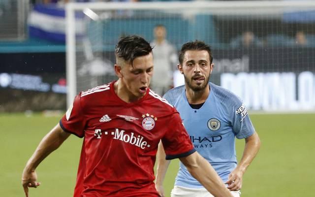 Jonathan Meier stieg mit dem FC Bayern II am Sonntag in die Dritte Liga auf