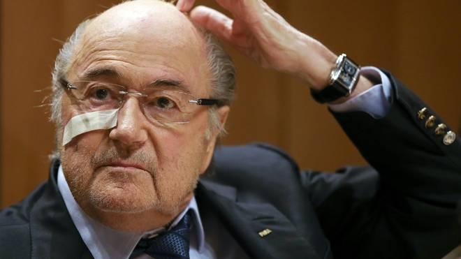 Sepp Blatter wurde für acht Jahre gesperrt