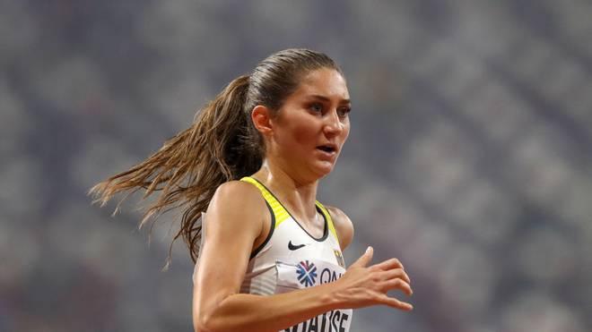 Gesa Felicitas Krause lief bei der WM in Doha auf das Podest