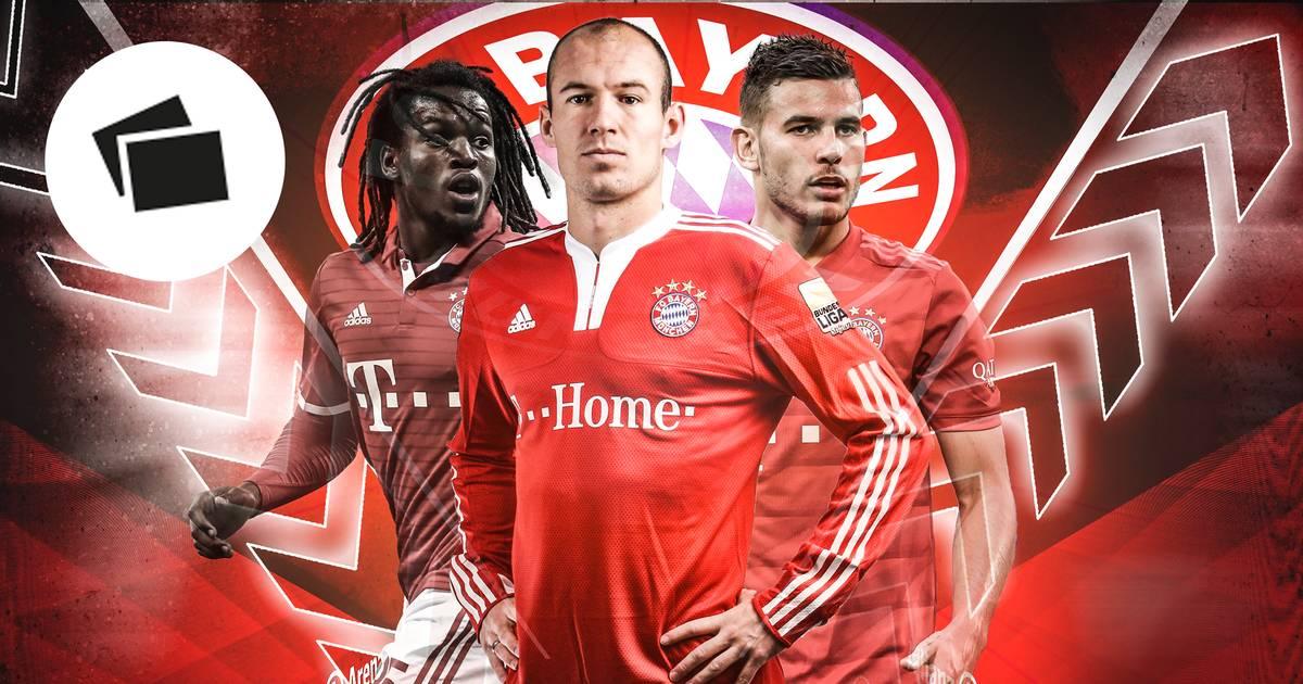 FC Bayern: Die teuersten Transfers mit Hernández, Robben im Check