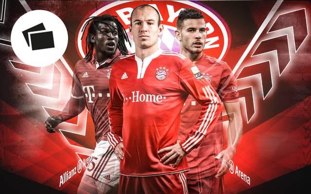 Renato Sanches, Arjen Robben und Lucas Hernández sind drei der teuersten Transfers des FC Bayern