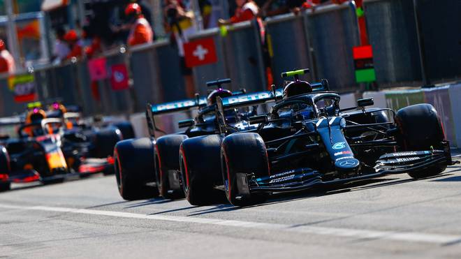 Mercedes bleibt trotz des Party-Modus-Verbots vor Red Bull