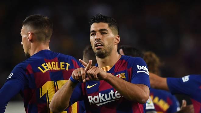 Luis Suarez hat mit einem besonderen Jubel für Aufsehen gesorgt