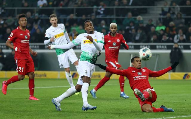 Alassane Plea erzielte gegen Mainz einen Doppelpack