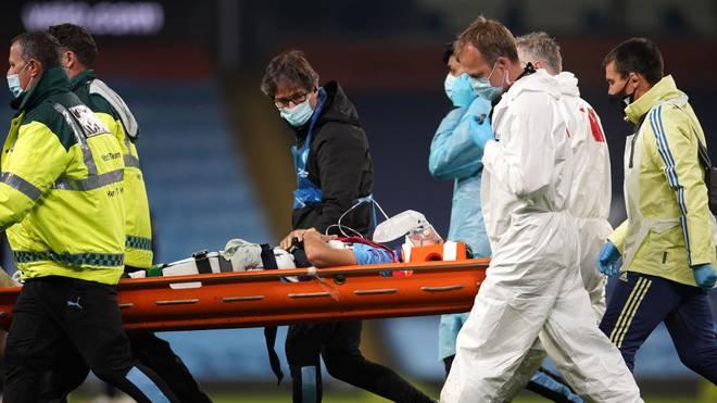 Eric Garcia musste auf dem Feld mit Sauerstoff beatmet werden