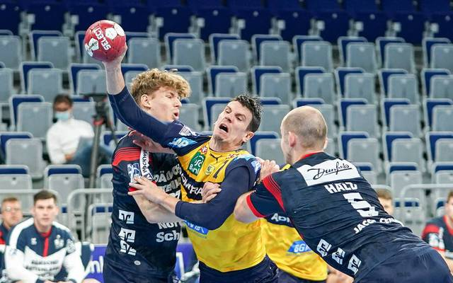 Die Rhein-Neckar Löwen verpassten im Topspiel einen Sieg