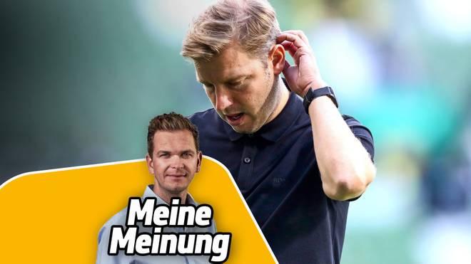 Florian Kohfeldt steht bei Werder Bremen bereits wieder unter Druck.