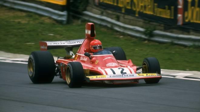 Niki Lauda führte Ferrari in der Formel 1 zu altem Glanz