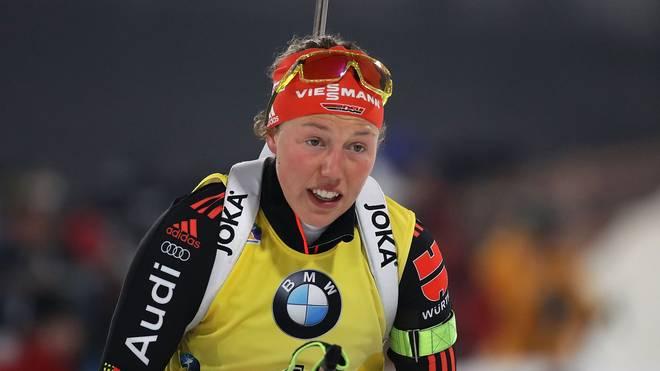 Laura Dahlmeier ist die dominierende Athletin im Biathlon-Weltcup 2017