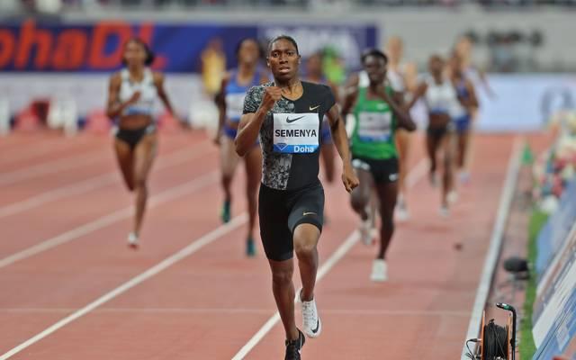 ATHLETICS-QAT-IAAF-DIAMOND: Caster Semenya