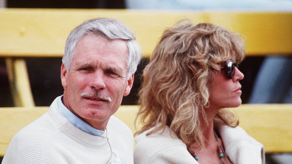 Ted Turner im Jahr 1990 mit seiner damaligen Frau Jane Fonda