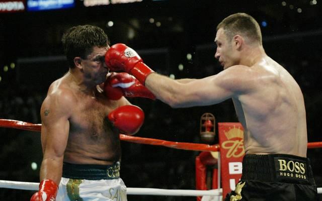 Vitali Klitschko nahm gegen Corrie Sanders erfolgreich Rache für seinen Bruder