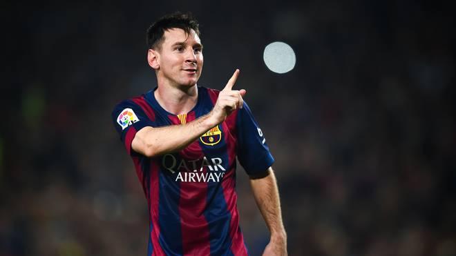 Lionel Messi vom FC Barcelona muss an Silvester vielleicht kicken