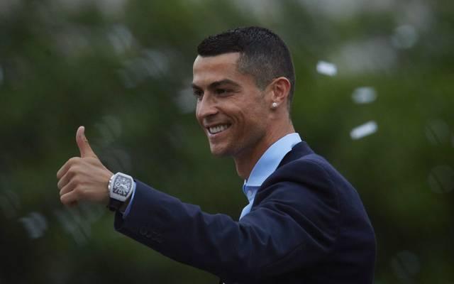 Cristiano Ronaldo winkt ein Mega-Vertrag bei Juventus Turin