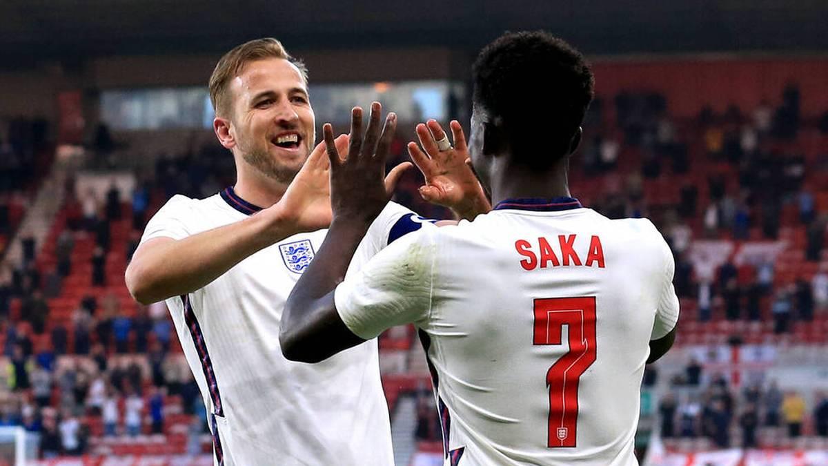 Die englische Nationalmannschaft startet gegen Kroatien ins Turnier