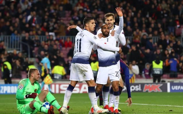 Tottenham steht nach einem 1:1 in Barcelona im Achtelfinale der Champions League